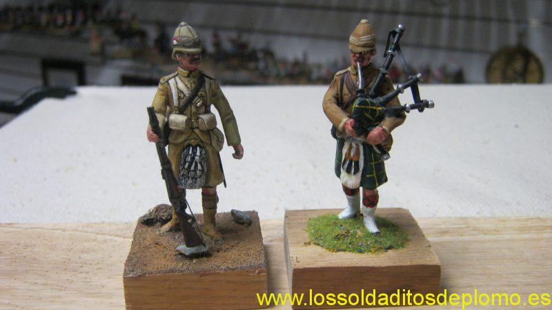 Sudan War-Seaforth Highlanders