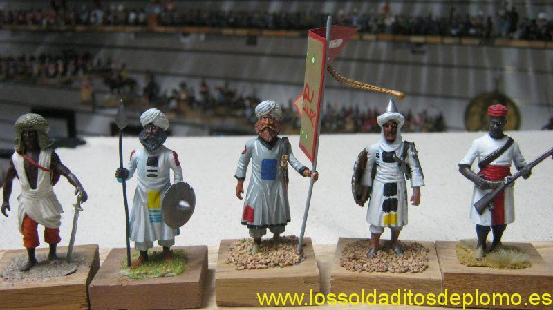 War in Sudan 1881-Tribal Warriors from Lasset Range
