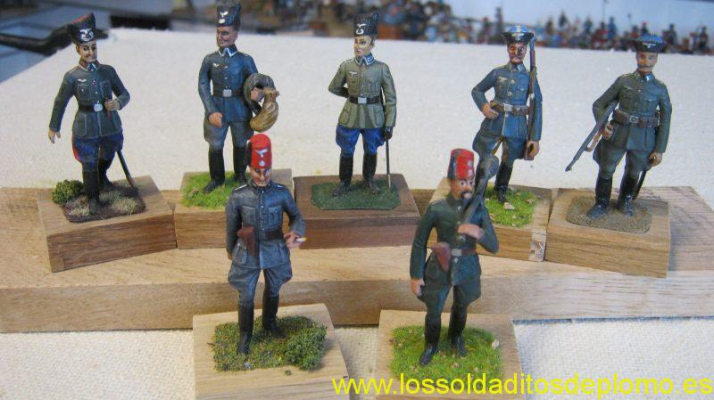 Wehrmacht 1942,Don and Terek Cossacks,Bosnian Handshars by Greenwood&Ball,Lasset Range