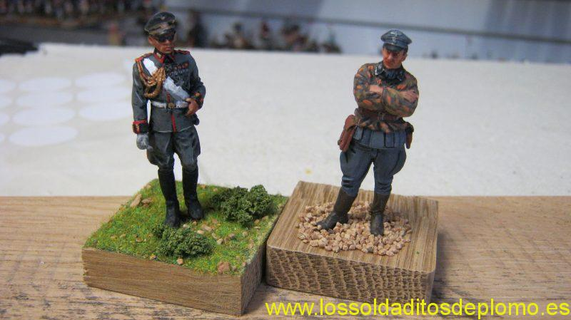 Wehrmacht General and Waffen SS,1940 by Belgo
