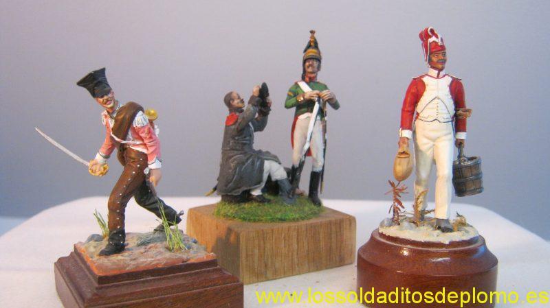 Wolf Nemrod (Resin)-Cheveau-Leger de Berg,Infantry and Dragoon. Batallion de Valaisan 1809