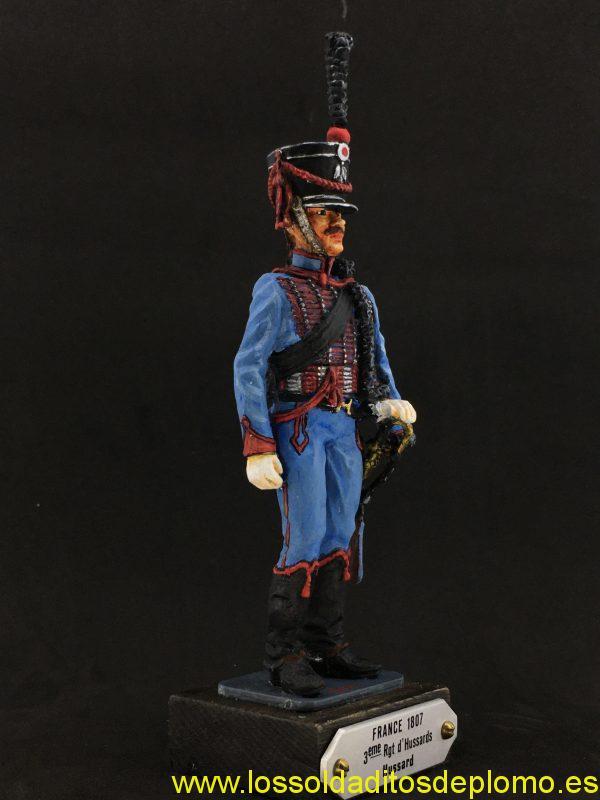 EKO 90mm, Húsar 3er regimiento Francia 1807