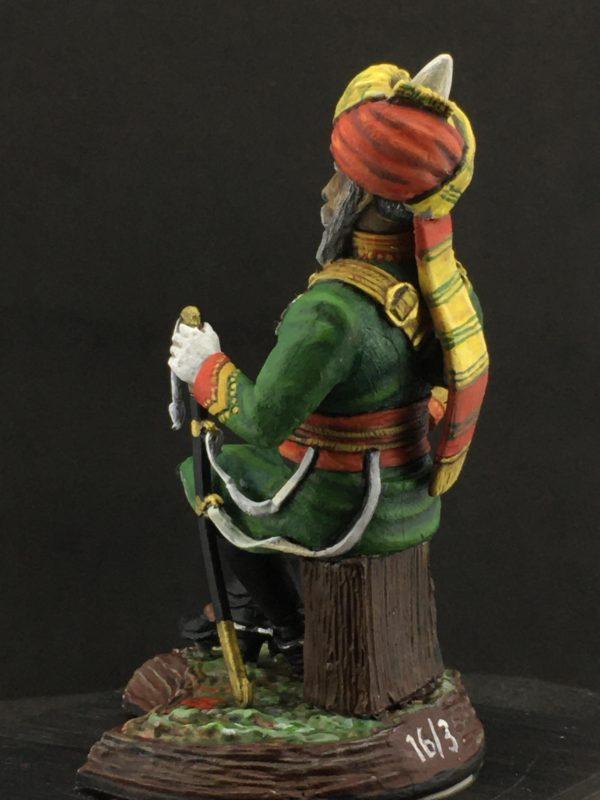 Series 77, Native Lancer Officer India, 1883-2
