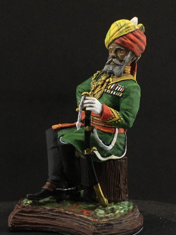 Series 77, Native Lancer Officer India, 1883-3