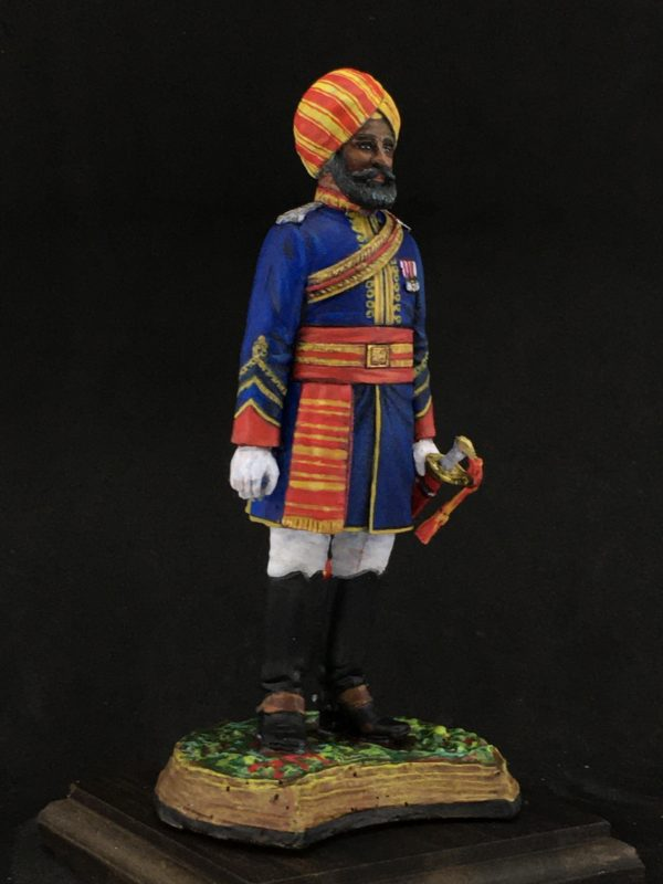 Series 77 Officer of the Native Cavalry, 1883-refe.161