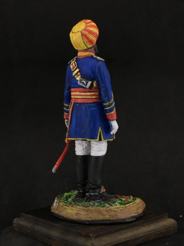 Series 77 Officer of the Native Cavalry, 1883-refe.161-2