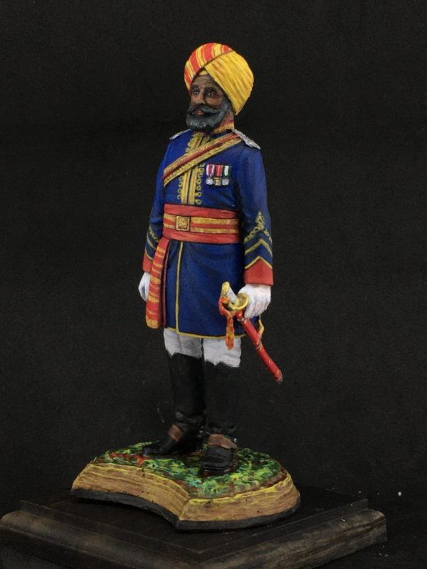 Series 77 Officer of the Native Cavalry, 1883-refe.161-4