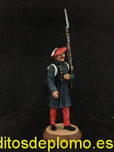 soldado infanteria carlista, almirall palou