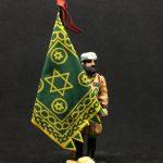 soldados de plomo GUERRA CIVIL . EJERCITO NACIONAL :Bandera de la Mehal-La Jalifiana