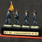 miniploms alymer paracaidistas del ejercito del aire