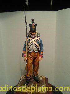 metal modeles Sargento de Fusileros 1807