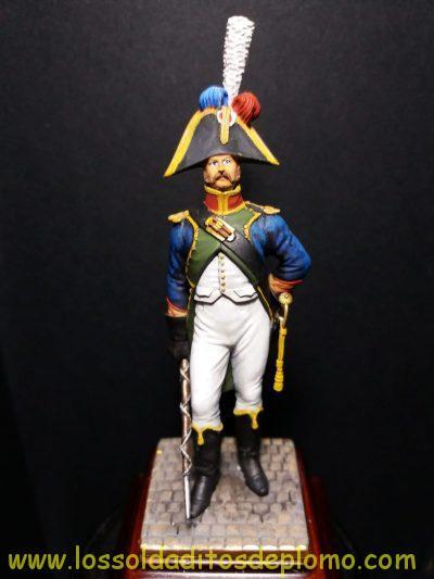 Tambor Mayor del 4 Regimiento