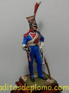 Trompeta de Chevau Legers Polacos de la Guardia 1810